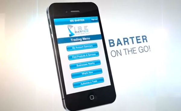 The new IBE Barter Exchange Mobile Application