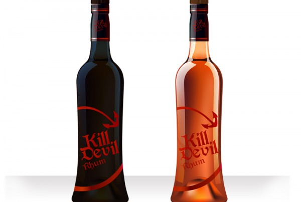Kill Devil Rhum Bottle Design